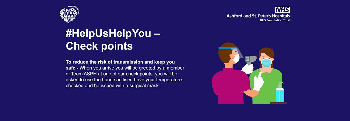 Help us help you - check points