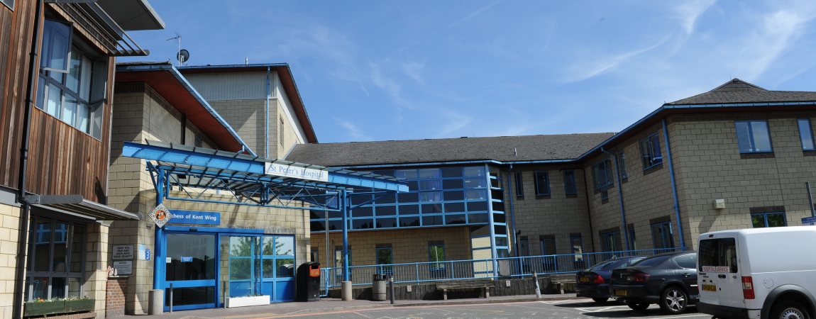The Duchess of Kent Wing entrance - click here to find out more about Leaving Hospital