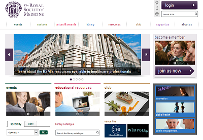 Link to The Royal Society of Medicine website