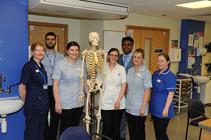 We are in the top rank for safe care of hip fracture patients