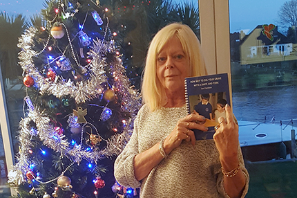 Local charity book author has nothing but praise for the NHS