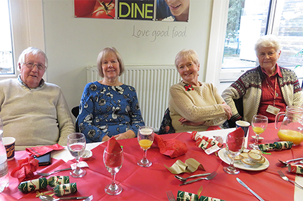 Volunteers Christmas Lunch