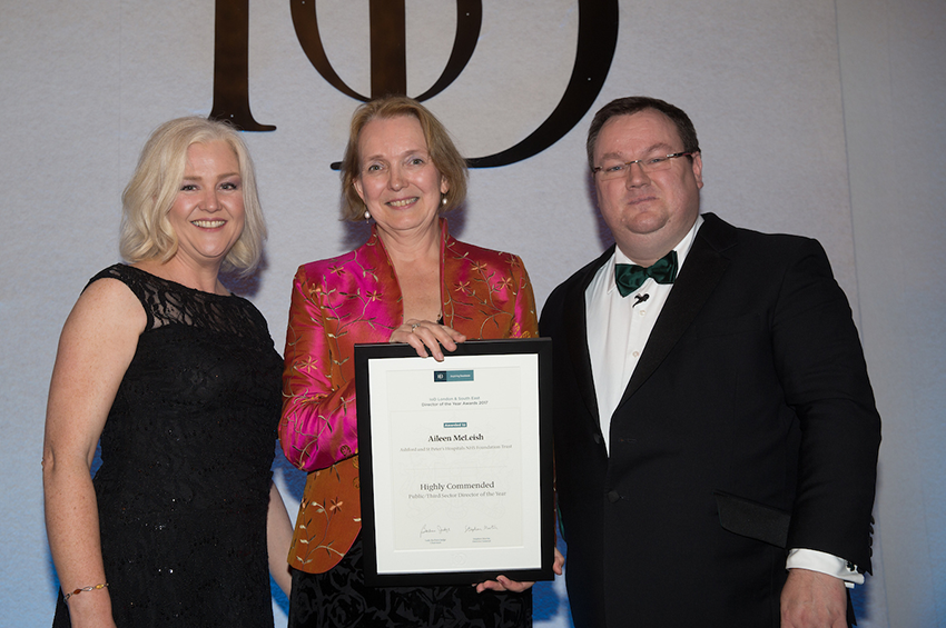 Aileen McLeish commended by Institute of Directors